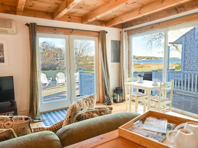 Photo for #446B: Cute Cottage living by the sea! Cozy, perfect summer spot for two!