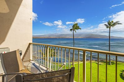 Side view from the lanai