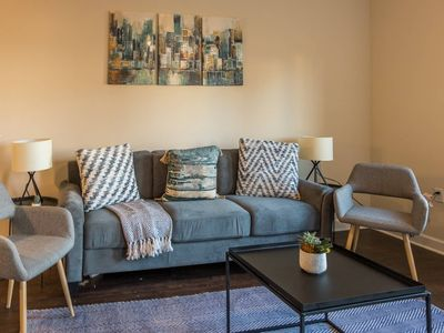 Photo for Updated 2BR Apt near St. John's Town Ctr w/Parking