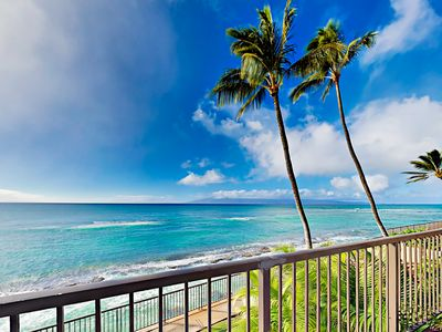Photo for Updated Hale Ono Loa 1BR w/ Ocean-View Lanai & Pool - Beach Gear Provided