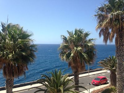 Photo for VERY QUIET APARTMENT IN LOS ABRIGOS WITH VIEW ON THE OCEAN