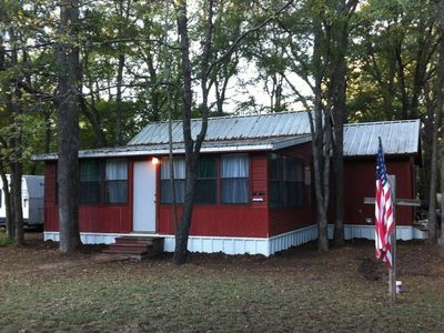 Photo for 3BR Cabin Vacation Rental in Denison, Texas