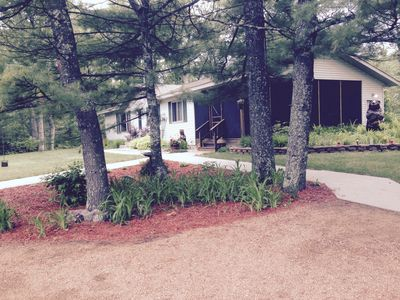Photo for House in the pines.  6 minutes to Sand Valley Golf Resort  and  Petenwell