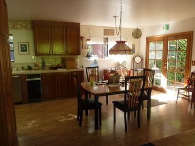 Photo for Lovely, Private, VERY Comfortable 'Home Away From Home' amidst Scenic Redwoods