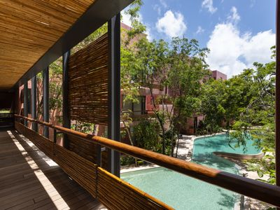 Photo for Impeccable 3 BR PH at Tulum by Happy Address