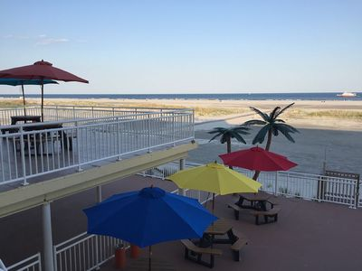 Photo for ☀ Newly Renovated~Beach Ocean Front view~large heated Pool~WIFI Sleep10