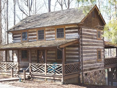 Photo for Cabin Life - enjoy the tranquility of the woods & the party at the lake!