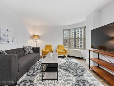 Photo for New! Chic 1BR in Gold Coast By Domio