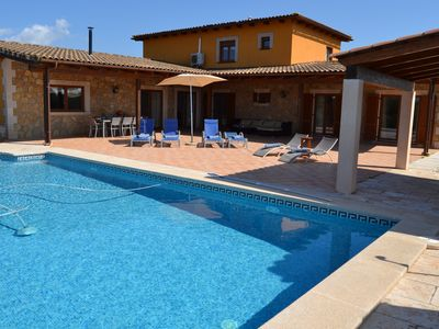 Photo for Villa Lorena in Ses Salines very close to the best beaches in Mallorca.