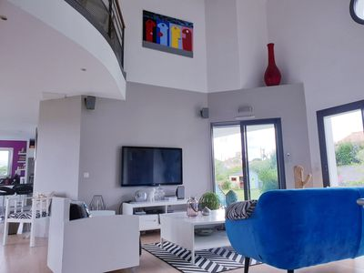 Photo for Recent house of 180 m² near the beaches of Anglet-Biarritz and Spain.