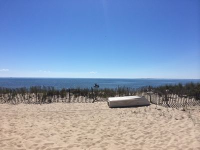 Photo for VIEWS VIEWS VIEWS on beautiful beach on spectacular Cape Cod Bay