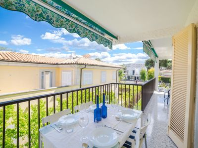 Photo for Playa de Muro Apartment, Sleeps 4 with Air Con and Free WiFi