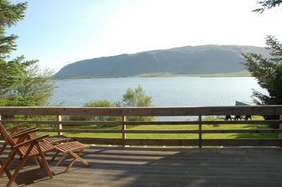 Lakeview from the patio