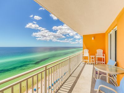 Photo for Enjoy unmatched Gulf views, beach access & shared pool/hot tub/lazy river!