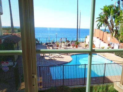 Photo for San Diego North Coastal Oceanfront Condo, Direct Beach Access, Jacuzzi, Pool