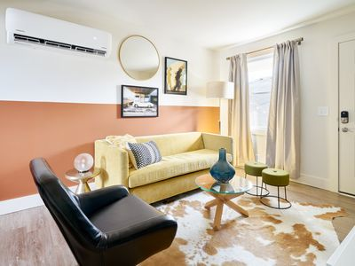 Photo for Sonder | State Street | Lively 1BR + Sofa Bed