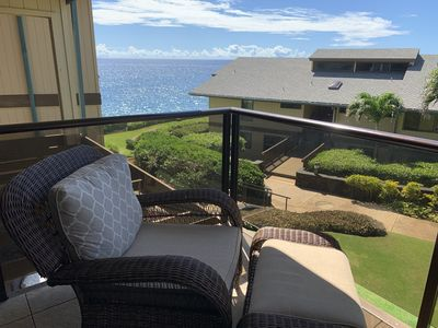 Photo for Brand NEW!! Poipu poolside paradise with ocean views