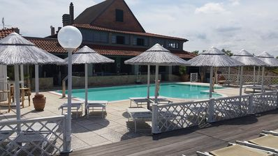 Photo for Quiet and child friendly Etruscan Resort with pool and children's playground. B2