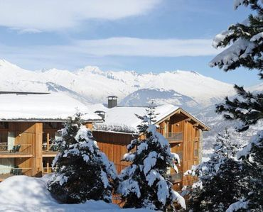 Photo for SKI ON FOOT DUPLEX 4 BEDROOMS 90 M2 IN THE HEART OF PARADISKI WITH MONT BLANC VIEW