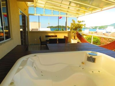Photo for Cód 009 Beautiful Penthouse with Jacuzzi and Sea View