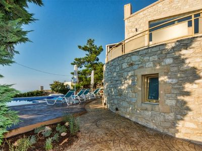 Photo for Vacation home Palladio Villa in Roussospiti - 10 persons, 4 bedrooms