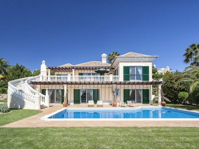 Photo for Four bedroom villa with Sea Views in the heart of Vale do Lobo X002