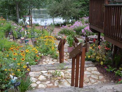Photo for Lakeside Gardens, New Waterfront Property, 1100 sq. ft,  2 Bed, 1 Bath Sleeps 6