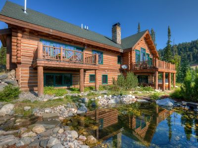 Photo for Amazing Custom Home with Ski In Ski Out Access in the Big Sky Base Area (213573)