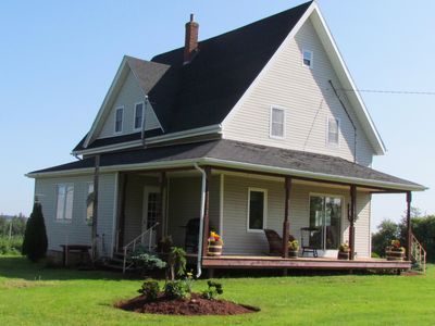 Photo for 4 Bedroom Country House - 10 km from Summerside - RIVER + CANOES