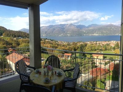 Photo for Eucalipto 3 located in an exclusive residence with panoramic view of Lake Maggio
