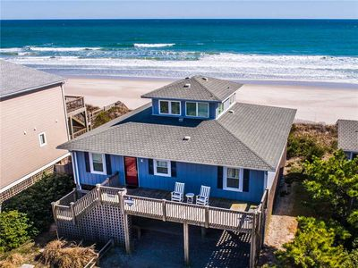 Photo for All About The View: 4 Br / 2 Ba Oceanfront In Topsail Beach, Sleeps 8