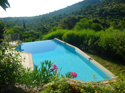 Photo for Villa with sea view - Gaou Bénat estate - Bormes les Mimosas