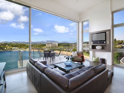 Photo for Best on the Bay!  Kalapaki Bay Standout Location. Contemporary, Clean, Open