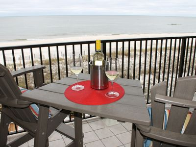 Photo for New on VRBO 3rd floor, Beautiful Beach View from Balcony, perfect beach getaway!