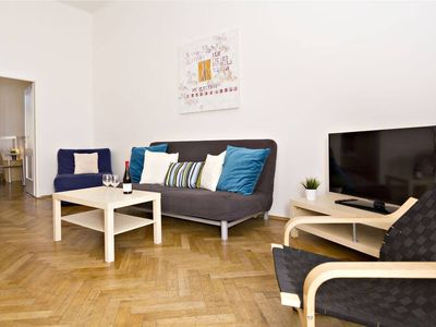 Photo for 2 BR 10min from Charles Bridge and across the river from National Theatre