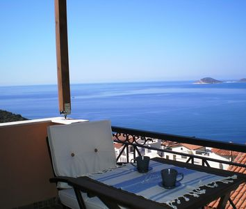 Photo for Villa Tymnessos - Family Friendly Villa, Private Pool & Stunning Sea Views