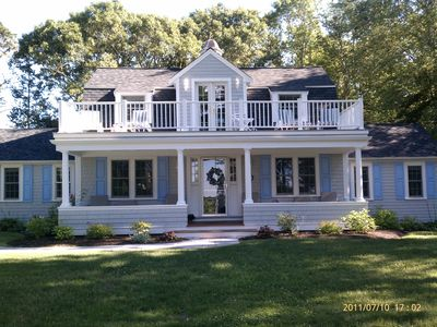 Photo for Exclusive Little Neck Island Cape Cod House
