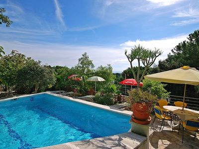Photo for Club Villamar - Holiday villa Lloret de Mar – enjoy the swimming pool and beautiful view high in ...