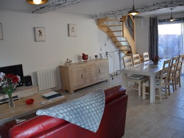 2 Gîtes *** 200 m from Avenue Verte and 16 km from Dieppe. linen + wifi  - Logement 1621159