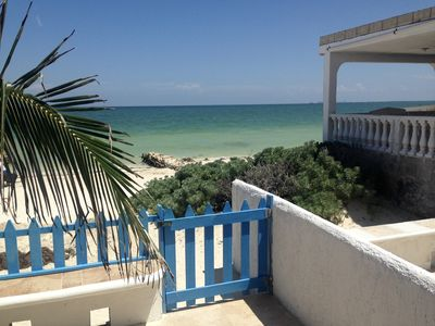 Photo for Villas Del Sol - Chelem Condo - Beachfront Bargain