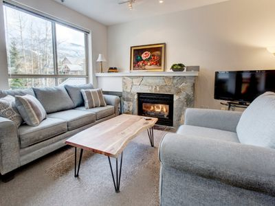 Photo for Whistler Village 2BR w Hot Tub, Walk to EVERYTHING