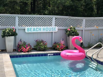 Photo for New Seabury Pool Villa - Private