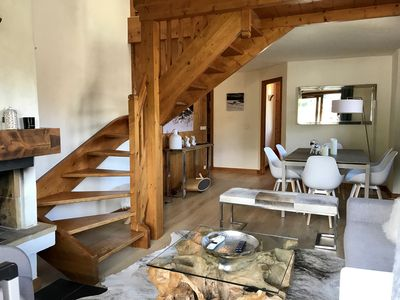 Photo for Duplex - Mont Blanc view - 7 minutes walk from the village