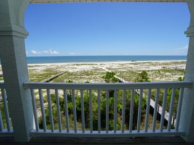Photo for New Listing!  Gulf front, elevator, pet friendly and beach gear included!