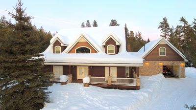 Photo for Mountain Retreat With Private Dock Close To Tamarack! Family Reunions Welcome!