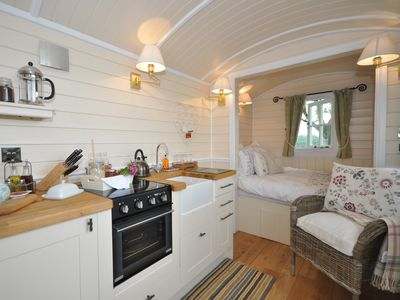 Photo for 1 bedroom Log Cabin in Abergavenny - 44235