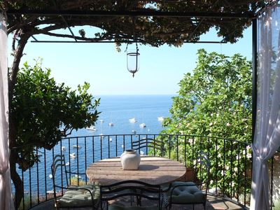 Photo for Il Nido, between sky and sea in Positano