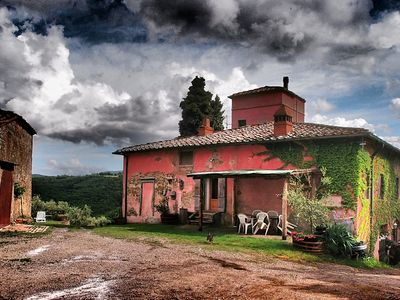 Photo for charming apartment in a tuscan farm-house in Chianti