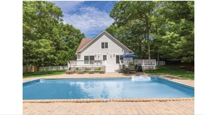 Photo for Most convenient location in the heart of the Hamptons. Large saline pool!