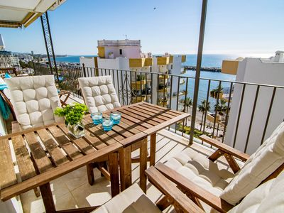 Photo for MDM- Beachfront Penthouse in Marbella - Apartment for 4 people in Marbella